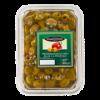 Groene olijven Provençaals, zonder pit en met paprika
