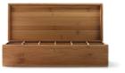 Theedoos Bamboe 12 vaks 37.5 x 15.5 x 10 cm