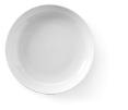 Bord wit,  26 cm