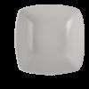 Schaal vierkant wit, 13 x 13 cm
