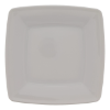 Bord vierkant wit, 17 x 17 cm
