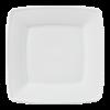 Bord vierkant wit, 21 x 21 cm