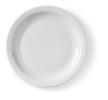 Bord wit,  16.5 cm