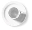 Kop  schotel wit, 0.12 l,  14 cm