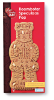 Roomboter speculaas pop