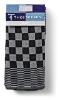 Theedoeken design Blok zwart 65 x 65 cm