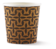 Koffiebekers bedrukt 225 ml karton
