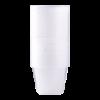 Beker voor magnetron met deksel 500 ml transparant