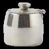 Suikerpot met deksel RVS 0.3 liter