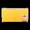 Servetten 2-laags geel, 33 x 33 cm