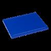 Snijplank met sapgeul, 1/2 GN blauw, 325 x 265 x 15 mm