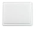 Snijplank met sapgeul, 1/2 GN wit, 325 x 265 x 15 mm