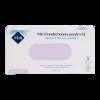 Onderzoekshandschoenen nitril sensitive blauw, ongepoederd, getextureerd, maat XL