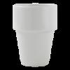 Melkbeker wit, 0.20 liter
