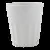 Melkbeker wit, 0.25 liter