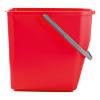Mopemmer 25 liter, rood
