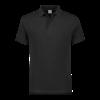 Polo comfort fit XXL, zwart