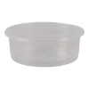 Cup rond 101 mm 150ml plastic transparant