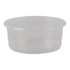 Cup rond 101 mm 200ml plastic transparant