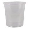 Cup rond 101 mm 500ml plastic transparant