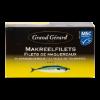 Makreelfilet in olie, MSC