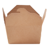 Foodbox 77.5 cl karton bruin