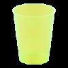 Shotglas 40/20 ml, geel