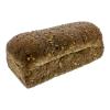 Brood rustiek vloer granen gesneden