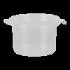 Sambalpotje met deksel 15ml plastic