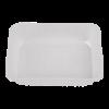 Traiteurbak 1000ml plastic transparant