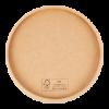 Deksel t.b.v. soepbeker  97 mm karton FSC
