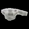 Salade bak rond 750 cc plastic transparant