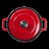 Cocotte bistrot 24 cm, rood