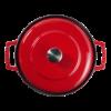 Cocotte bistrot 28 cm, rood