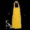 Barschort met 2 zakken geel