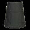 Belgische sloof met 3 zakken zwart