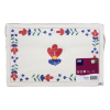 Placemats boerendecor rood-blauw-wit, 27 x 42 cm