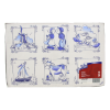 Placemats Delft-Ware, 1-laags 27 x 42 cm