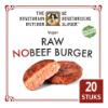 Raw NoBeef burger