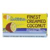 Geconcentreerde kokoscrème santen