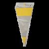 Puntzak PP 180 x 370 mm, geel