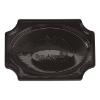 Bon Appetit cateringschaal zwart/55 cm