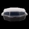 Octavieuwbox zwart, 160 x 60 mm