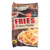 Rustic fries home-style