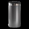 Afvalemmer recycle touch bin 2 x 20 liter, Platinum