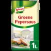 Groene peper saus