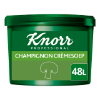 Champignon Crèmesoep Poeder opbrengst 46L