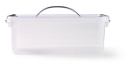 Opbergbox met deksel 12 liter 400 x 300 x 140 mm