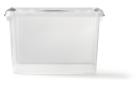 Opbergbox met deksel 22 liter 400 x 300 x 260 mm