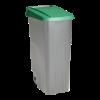 Vuilnisbak 110 liter, grijs-groen